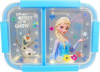 poksi frozen girls blue mcquean lunchbox 2 Containers Lunch Box(750 ml)