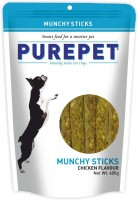 Purepet Munchy Sticks Chicken Dog Treat(400 g)
