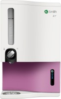 AO Smith X7 Plus 9 L RO + SCMT Water Purifier(White, Pink)