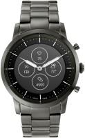FOSSIL Collider Hybrid HR Smartwatch Smartwatch(Grey Strap, Regular)