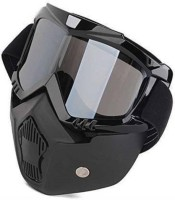 DRAMATIC INTERORS Storm Trooper Detachable Goggles Nose Face Mask (Black) Power Tool  Safety Goggle(Free-size)