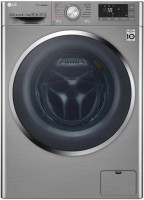 LG 9 kg Fully Automatic Front Load with In-built Heater Grey(F4J8VHP2SD.AESPEIL)