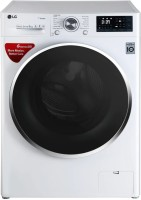 LG 8 kg Fully Automatic Front Load with In-built Heater White(FHT1208SWW.ABWPEIL)