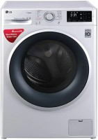LG 8 kg Fully Automatic Front Load with In-built Heater Silver(FHT1208SNL.ALSQEIL)
