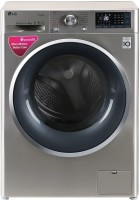 LG 8 kg Fully Automatic Front Load with In-built Heater Silver(FHT1408SWS.ASSPEIL)