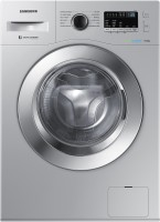 SAMSUNG 6.5 kg Fully Automatic Front Load with In-built Heater Silver(WW65R22EK0S/TL)