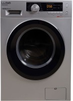 Lloyd 8 kg Fully Automatic Front Load with In-built Heater Silver(LWMF80SX1)