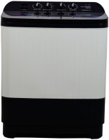Lloyd 8.5 kg Semi Automatic Top Load White, Purple(LWMS85UE1)