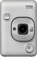FUJIFILM Instax Instax Mini LiPlay Hybrid Instant Camera(Silver)