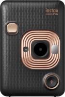FUJIFILM Instax Instax Mini LiPlay Hybrid Instant Camera(Black, Gold)