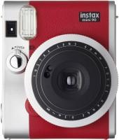 FUJIFILM Instax Mini 90 Instant Camera(Red, Silver)