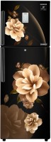 SAMSUNG 253 L Frost Free Double Door 2 Star Convertible Refrigerator(Camellia Black, RT28T3932CB)