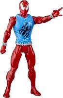 MARVEL Spider-Man Titan Hero Series Blast Gear Web Warriors Scarlet Spider(Multicolor)