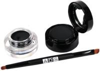 Highfly ADS 2 in 1 Jet-Black Waterproof Eye Liner Gel and Powder 4 g(Black) - Price 255 80 % Off