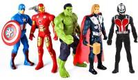 poksi avengers of ultron (pack of 5 avengers) multicolor(Multicolor)