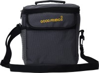 Good Friends Lunch Bag for Office Men, Women and Kids - Premium Quality Tiffin Bag for School, Picnic, Camping, Outdoor Waterproof Lunch Bag(Grey, 4 L)