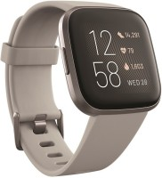 FITBIT Versa 2 Smartwatch(Grey Strap, Regular)