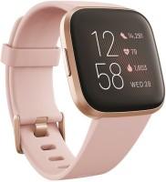 Fitbit Versa 2 Smartwatch(Pink Strap, Regular)