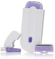 Wonder World ™ XIX-12 Rechargeable Hair Remover For Full Body Cordless Epilator(White, Purple)