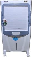 HD DIAMOND 90 L Desert Air Cooler(White & Grey, JUPITER TOWER)