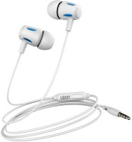 Ubon UB-770 White Wired Headset(White, In the Ear)