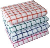 vel Cotton 200 GSM Bath Towel Set(Pack of 4)