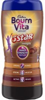 Cadbury Bournvita 5 Star Magic Health Nutrition Drink(500 g, Chocolate Flavored)
