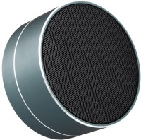 cospex Fashion and laconic cylinder shape design 3 W Bluetooth  Speaker(Black, 2.1 Channel)