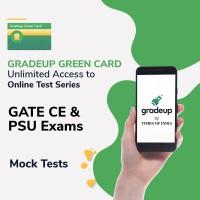 Gradeup Green Card for  GATE CE & PSU Exams Test Preparation(Voucher)