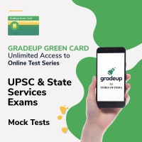 Gradeup Green Card for  UPSC & State Services Exams Test Preparation(Voucher)