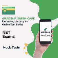 Gradeup Green Card for  NET Exams Test Preparation(Voucher)
