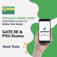 Gradeup Green Card for  GATE EE & PSU Exams Test Preparation(Voucher)