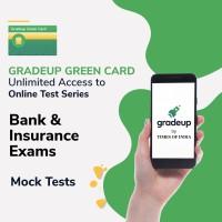 Gradeup Green Card for  Banking & Insurance Exams Test Preparation(Voucher)