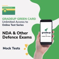 Gradeup Green Card for  NDA & Other Defence Exams Test Preparation(Voucher)