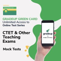 Gradeup Green Card for  CTET & Other Teaching Exams Test Preparation(Voucher)