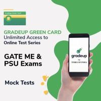 Gradeup Green Card for  GATE ME & PSU Exams Test Preparation(Voucher)