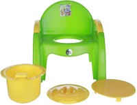 KORBOX India Baby Pink Chair Potty Seat(Green, Yellow)
