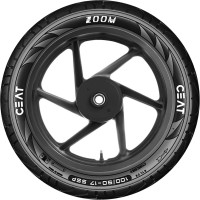 CEAT 101683 ZOOM 100/90-17 Rear Tyre(Street, Tube Less)