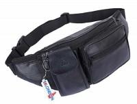 K London 1276_black Waist Bag(Black)