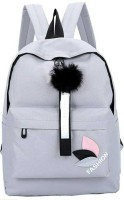 Overnice Stylish collage backpack 25 L Backpack(Grey)