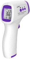 Dikang E1 digital thermometer Infrared digital Non-contact Thermometer rofessional Digital LCD display Forehead Temperature Measurement Thermometer, thermometer check for baby's fiver(White, purple) Thermometer(White, Purple)