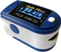 V Secure Make In India Fingertip Pulse Oximeter with 2 AAA Batteries(Blue & White Color) Pulse Oximeter(Blue, White)