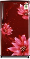 Onida 190 L Direct Cool Single Door 3 Star Refrigerator(FLORAL RED, RDS1903R)