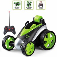 Toyvala RC Stunt Car for Boy Toys, 360 Degree Rotation Racing Car, RC Cars Flip and Roll, Stunt Car Toy for Kids (Multicolor)