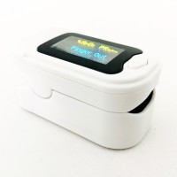 Lets Care Fingertip Pulse Oximeter With OLED Display Pulse Oximeter(White, Black)