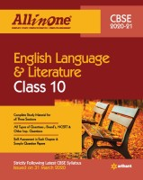 Cbse All in One English Language & Literature Class 10 for 2021 Exam(English, Paperback, unknown)