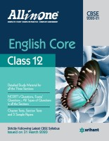 CBSE All In One English Core Class 12 for 2021 Exam(Paperback, Gajendra Singh)