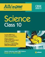 Cbse All in One Science Class 10 for 2021 Exam(English, Paperback, Singh Sonal)