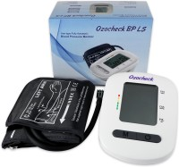 Ozocheck Fully Automatic Digital Blood Pressure and Pulse Rate Monitor For Accurate Results along with batteries BP1318 Bp Monitor(White)
