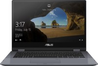 Asus VivoBook Flip 14 Core i3 10th Gen - (4 GB/512 GB SSD/Windows 10 Home) TP412FA-EC371TS 2 in 1 Laptop(14 inch, Star Grey, 1.5 kg, With MS Office)